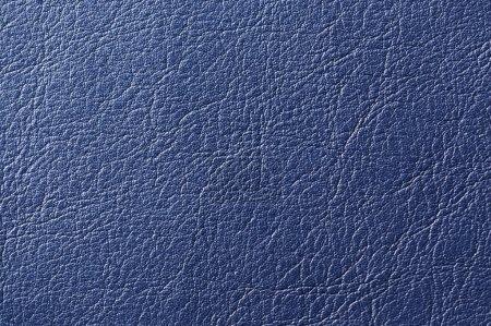 Dark Blue Artificial Leather Background Texture