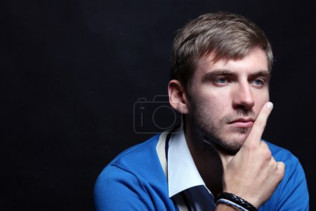Photo for Portrait of young good looking male model - Royalty Free Image