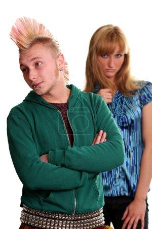 modèle de cheveux couple