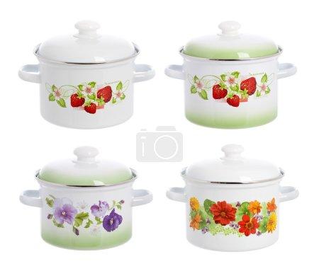 Four pan pot kitchen