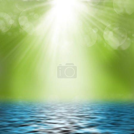 Photo pour La nature verdoyante en été - image libre de droit