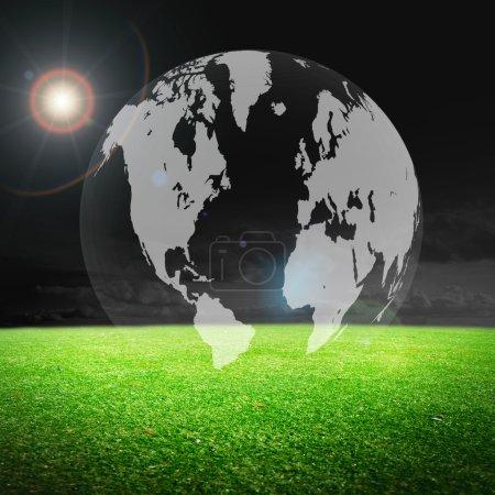Stadium with globe