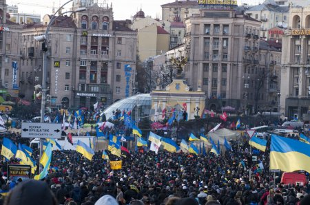 Ukrainian people demand the resignation of the government and early voting