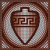 Classic Greek mosaic