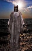 Jesus Christ sunrise