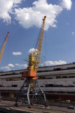 Portal cranes, Ukraine. Odessa