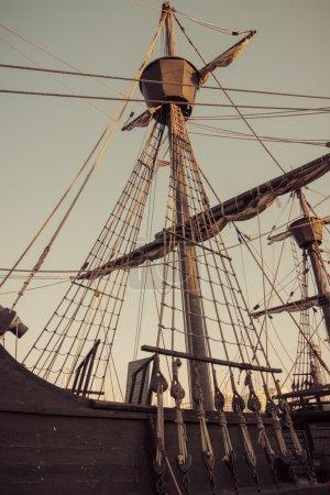 Old sailship