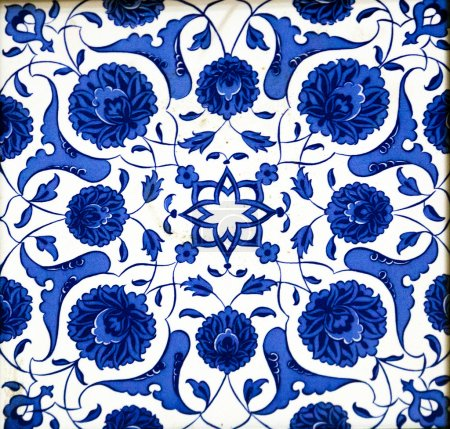 Photo for Ceramic tiles patterns from Turkey - Royalty Free Image