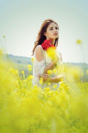 in blossom raps field
