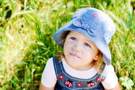 Photo for Two years old summer toddler girl - Royalty Free Image