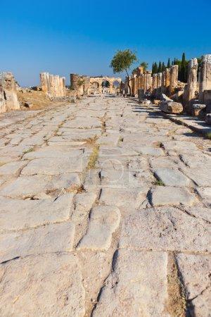 Old ruins at Pamukkale Turkey