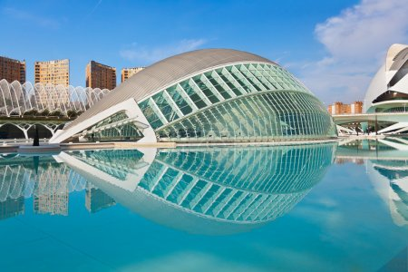 City of Arts and Sciences - Valencia Spain
