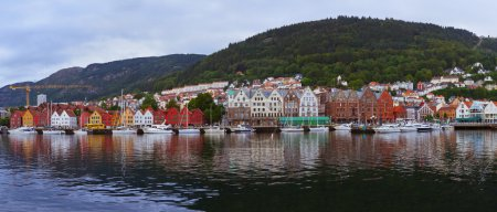 Bergen Norway panorama