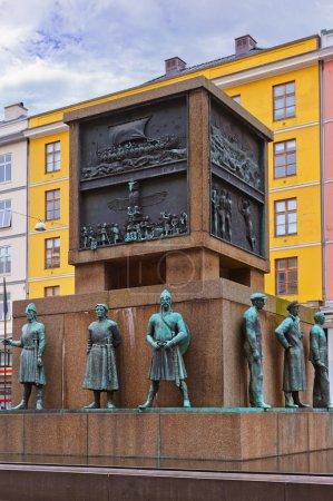 Sailors monument - Bergen Norway