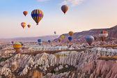 "Постер, картина, фотообои ""Воздушный шар пролетел над Каппадокии Турция"""