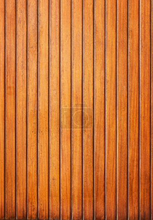 Wooden planks wall vertical background.