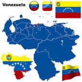 Venezuela vektorové sada