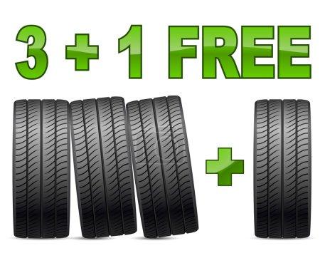 Summer tires sales promotion
