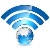 Wireless access point to global network concept