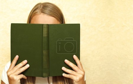 Female and  book