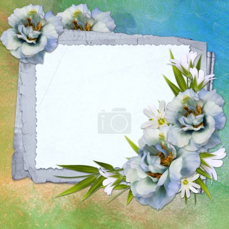 Background for congratulation card