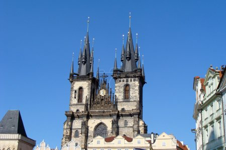 Church of our lady before Tyn. Prague