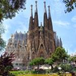 BARCELONA, SPAIN - MAY 28: La Sagrada Familia on M...