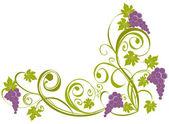 Grapevine Wine design elements