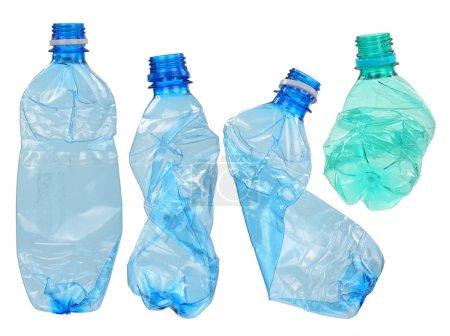 Used plastic bottles