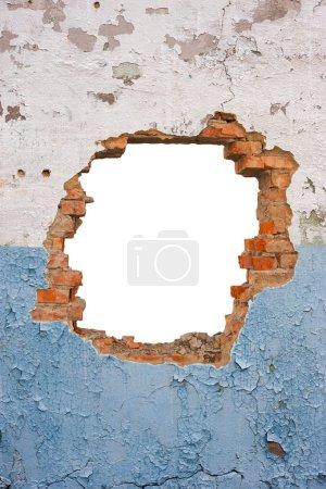 Photo for Hole brick wall - Royalty Free Image