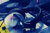 Cuffie DJ mixer audio