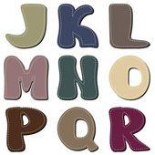 Different colors letters scrapbook part 2