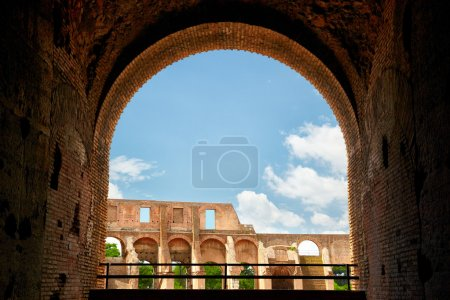 Arch in The Colosseum