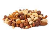 """Постер, картина, фотообои """"Смешанные орехи - фундук, грецкие орехи, миндаль, кедровые орехи"""""""