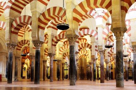 Photo pour La Grande Mosquée de Cordoue (Mezquita), Espagne - image libre de droit
