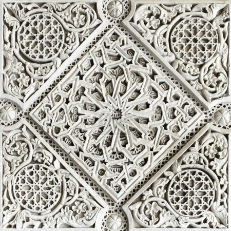 Moorish stone carving