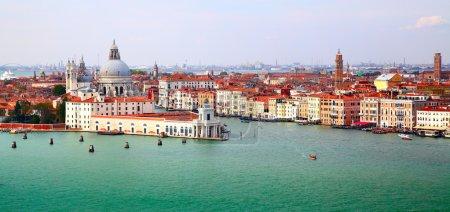 Photo pour Panorama du Grand Canal, Venise, Italie - image libre de droit
