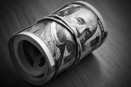 Money keeps silent