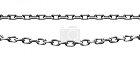 Metal chain parts