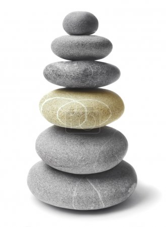 Photo pour Pierres d'équilibrage - image libre de droit