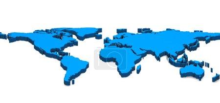 Photo pour Carte du monde - image libre de droit