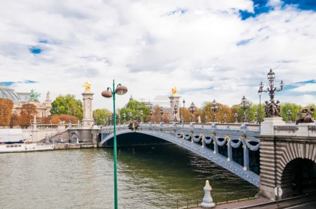 Pont Alexandre III - Bridge in Paris, France.