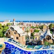 Park Guell in Barcelona, Spain....