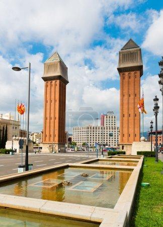 BARCELONA. SPAIN - SEPTEMBER 21: View of the Venet...