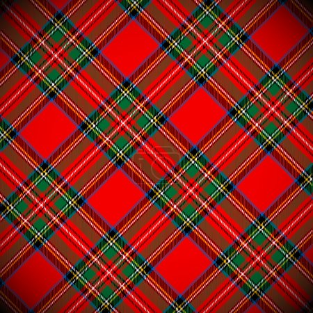 Tartan vector background