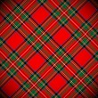 Royal Stewart tartan / vector illustration with de...
