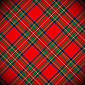 Royal Stewart tartan / vector illustration with detailed texture