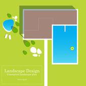 Conceptual landscape design plan