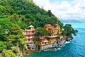 village de Portofino sur la côte ligure, Italie
