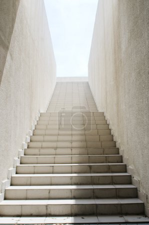 Photo for Long stairs with many steps - Royalty Free Image